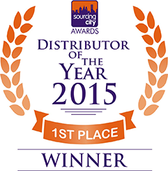 dowlis sourcing city 1st Place Distributor 2015